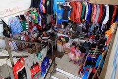Happy family Indonesian lifestyle Stock Photo