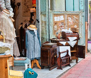 Little shop in Provence Stock Images