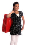 Little Shopper Stock Image