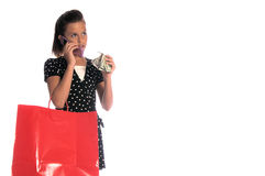Little Shopper Stock Images