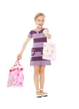 Little shopper Royalty Free Stock Photo