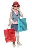 Little Shopper Stock Image