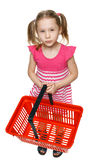 Little shopper. Stock Photography