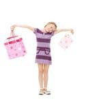 Little shopper Stock Photos