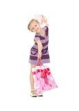Little shopper Stock Photography