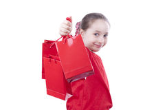 Little shopping Stock Photography