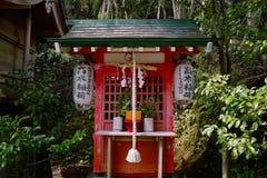 Little shrine. In Japan senn in 2010 Royalty Free Stock Photography
