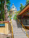 Little shrine in Dharamsala Stock Photography