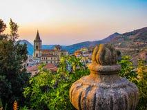 Little Sicilian town Stock Photos