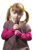 Little singer Royalty Free Stock Images