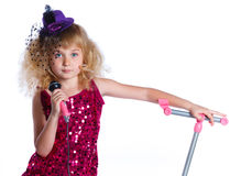 Little singer Stock Photography
