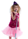 Little singer Royalty Free Stock Image