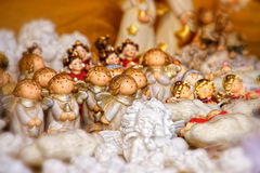Little singing angels Royalty Free Stock Photography