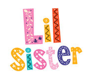 Little sister Royalty Free Stock Images