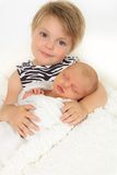 Little sisters Royalty Free Stock Photos