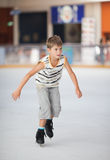 Little skater Royalty Free Stock Image