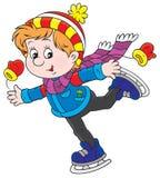 Little skater Stock Images