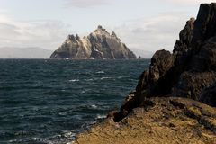 little skellig Arkivfoto