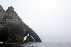 Little Skellig Michael island on the Atlantic Ocean Stock Photography