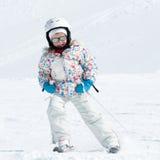 Little skier Stock Image