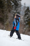 Little skier Stock Photography
