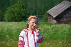 Little Slavic  girl Stock Photos