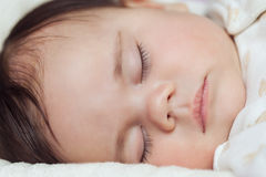 Little sleeping baby Stock Photo