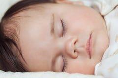 Little sleeping baby Stock Photo
