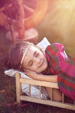 Little Sleeping Beauty Royalty Free Stock Photos