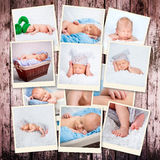 Little sleeping child Royalty Free Stock Photos