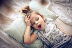 I want more sleep. stock photography