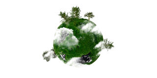 Little small planet Royalty Free Stock Photos
