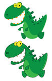 Little smile dino Stock Photo