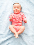 Little smiling baby girl Royalty Free Stock Image