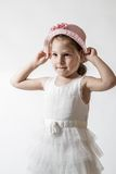 Little Smiling Ballerina Royalty Free Stock Photography