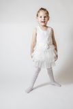 Little Smiling Ballerina Royalty Free Stock Images