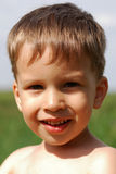 Little smiling boy Royalty Free Stock Images