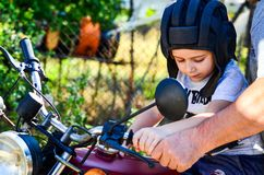 Little rider Royalty Free Stock Photos
