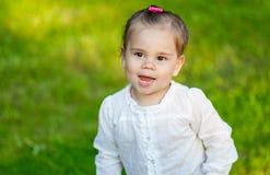 Little smiling child girl Stock Photo
