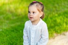 Little smiling child girl Stock Photography