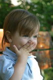 Little Smiling Girl Stock Photography