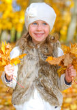 Little smiling girl Royalty Free Stock Photography