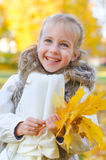 Little smiling girl Stock Image