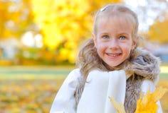 Little smiling girl Stock Image