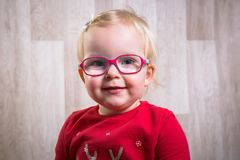 Little smiling girl portrait Royalty Free Stock Photography
