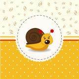 Little snail baby Stock Photos
