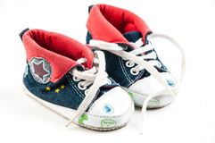 Little sneakers Royalty Free Stock Photography