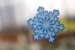 A little snow-flake Royalty Free Stock Image