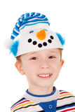 Little snowman Stock Photography