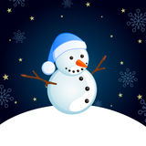 Little snowman Royalty Free Stock Photography